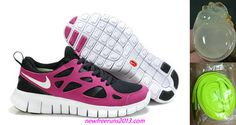 New Nike Free Runs 2 Womens Black Violet Shoes