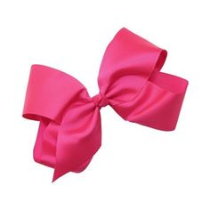 Webb Direct 2U Hair Bows ~ Extra Large Grosgrain Bow With Tied Center... ($2.99) ❤ liked on Polyvore featuring accessories, hair accessories, bows, hair, bow hair accessories, hair bows and grosgrain hair bows