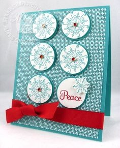 """making """"peace"""" with serene snowflakes"""