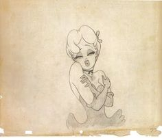 """Tex Avery's sketches for """"Red Hot Riding Hood"""" Pin Up Drawings, Sweet Drawings, Cartoon Drawings, Cartoon Art, Cartoon Girls, Famous Cartoons, Old Cartoons, Animated Cartoons, Animation Reference"""