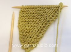 DROPS Knitting Tutorial: How to make increases and decreases (Drops no. 155-11)
