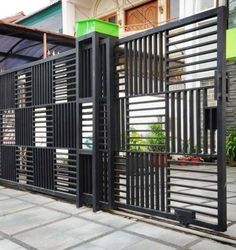 10 Cheap And Easy Unique Ideas: Modern Front Yard Fence fence architecture.Bamboo Fence And Gates.