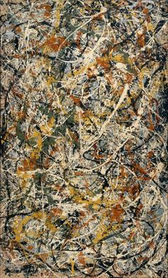 Abstracted for Life: Jackson Pollock - Number 3, 1949: Tiger (1949)