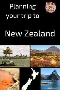 Travel Guide New Zealand - Advice and information to plan your trip