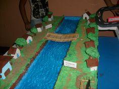 Resultado de imagem para maquete nascente do rio são francisco