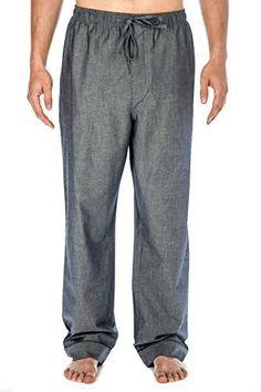 Mens Premium Cotton Chambray Lounge Pants  Price : $19.99 http://www.noblemount.com/Premium-Cotton-Chambray-Lounge-Pants/dp/B00JQKMZ5I