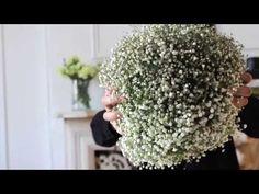 How to Make a Fresh Baby's Breath Flower Ball Flower Ball, Diy Flower, Babys Breath Flowers, Craft Wedding, Wedding Decor, Wedding Venues, Diy And Crafts Sewing, Wedding Videos, Flower Tutorial