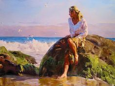 Michael And Inessa Garmash Romantic Impressionist Oil Paintings ...BTW,Please Check this out: http://artcaffeine.imobileappsys.com
