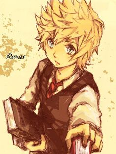 Roxas (Bookworm/Scholarly style)