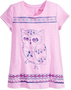 4b480cb8 Epic Threads Girls' Graphic-Print T-Shirt, Only at Macy's Graphic Prints