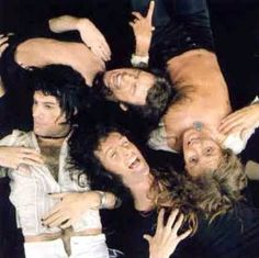 Queen.  WOW!  A very rare shot from the Sheer Heart Attack album cover photo session!  Love it!!!  :)