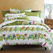 I just bought a cover for my comforter. Tragic timing. I guess I'll have to dream about it and keep working on being the ultimate Bird Lady.