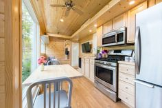Can You Believe This Tiny House Sleeps 8 People?  - TownandCountryMag.com