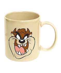 This Looney Tunes Taz Face 11-Oz. Coffee Mug by ICUP Inc. is perfect! #zulilyfinds