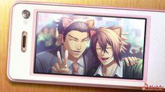 Kondou-san & Okita | 薄桜鬼SSL ~sweet school life~ (Hakuouki SSL otome game) #game #otomegame