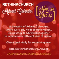 rethink advent 2014