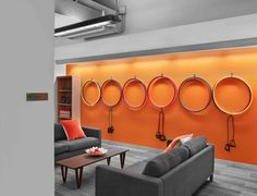 Birchbox Office Pictures - hoopla hoops and resistance bands available but take up little space.