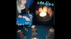 DIY Rock Crafts/Make a Stone Candle Holder/ Steinerner Kerzenhalter zum ...
