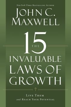 """The 15 Invaluable Laws of Growth - John Maxwell. Great break down of all the points of basic PD. Includes """"how to"""" sections to apply to your life. I like how he references other authors I read."""