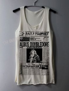 Daily Prophet Albus Dumbledore Shirt | Community Post: The 30 Most Perfect Gifts For Your Biggest Harry Potter Friends This Holiday Season