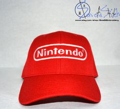 Diddy Kong Nintendo Hat by SoaSEmbroidery on Etsy