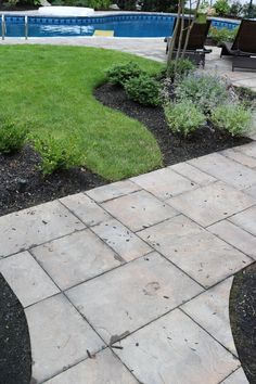 Cambridge Pavingstones with ArmorTec are the best way to make your walkway the prettiest one on the block! Installation: Design & Build Landscape
