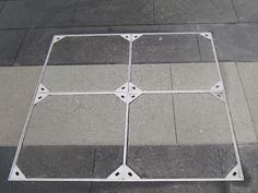 tile insert drains in paving Detail, Image