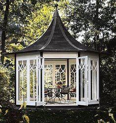 Pergola For Small Patio Backyard Greenhouse, Backyard Gazebo, Garden Gazebo, Deck With Pergola, Cheap Pergola, Diy Pergola, Backyard Landscaping, Pergola Kits, Simple Greenhouse