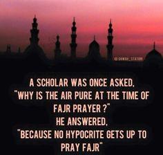 Prayer is better than sleep.   Don't neglect Fajr.