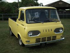 1966 Ford Econoline Pick-up Truck Old Pickup Trucks, 4x4 Trucks, Lifted Trucks, Cool Trucks, Chevy Trucks, Little Truck, Truck Storage, Truck Camping, Ford Bronco