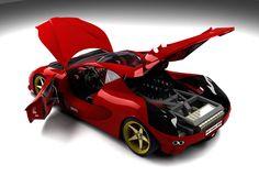 Enzo Ferrari Como Scuderia