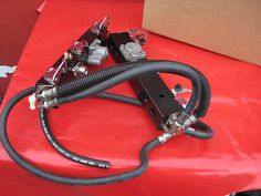 Mercury Marine Racing 8M0055705 Fuel Injectors Rail V6 Outboard motor