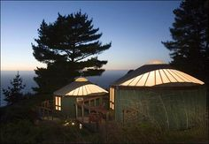 Yurts on the Big Sur: This is Not a Flashback : TreeHugger