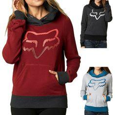 Fox Racing Explode Women's Ladies Fall Casual Pullover Sweatshirt Hoodie