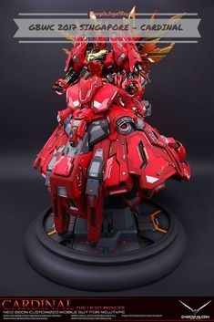 Gunpla Custom Build - Cardinal the Light Bringer. Gunpla World Cup Singapore 2017. Singapore GBWC 2017.