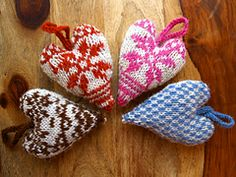 Ravelry: Fair Isle Valentine's Heart pattern by Lauren Howden