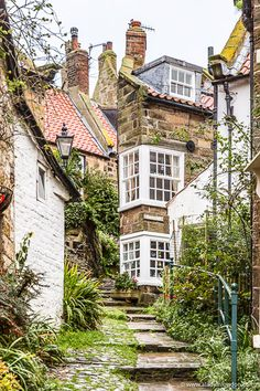 51 Places to Visit in the UK in 2019 You Have to See These Robin Hood's Bay in Yorkshire, England Beautiful Places In England, Beautiful Places To Visit, Cool Places To Visit, Beautiful Homes, Places To Go, House Beautiful, Yorkshire England, Yorkshire Dales, Cornwall England