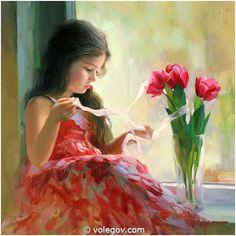 """""""Tulips"""" by Vladimir Volegov"""