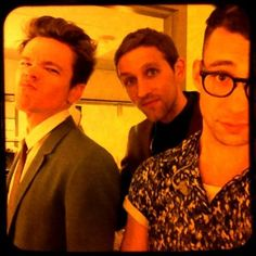Is he trying to duckface? Come on, nate, you guys are too cool for that...