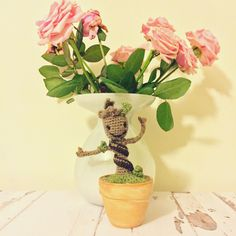 Baby groot made by me.