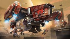 Destiny - Cabal Harvester Dropship | Mega Construx