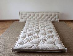 SALE 15% OFF / Wool-Filled Shikibuton / Thai Massage Mat /