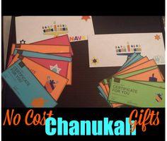 No Cost Chanukah Gift Idea