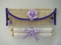 my invitation from the Philippines... so native Wedding Scrapbook, Philippines, Lilac