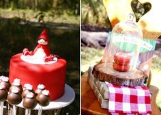 Little Red Riding Hood Inspired Birthday Party
