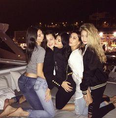 Kendall, bella,kylie, hailey and gigi