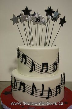 The Commons Getty Collection Galleries World Map App . Music Themed Cakes, Music Cakes, Sweet Sixteen Cakes, Sweet 16 Cakes, Sweet 16 Birthday Cake, 16th Birthday, Happy Birthday, Quinceanera Cakes, Cakes For Women
