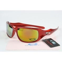 96bb590100  23.53 on sale! cheap oakley c six sunglasses red frame yellow-pink iridium  hot