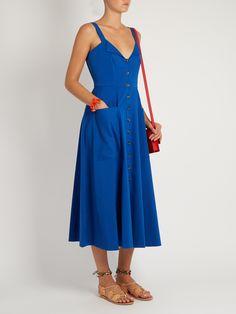 Fara button-down midi dress | Saloni | MATCHESFASHION.COM UK