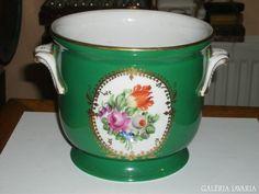 Ó-Herendi kaspó Vases, Pots, History, Tableware, Historia, Dinnerware, Tablewares, Dishes, Place Settings